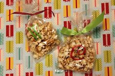 12 Days Handmade Christmas Tutorials|Day 10 Cinnamon Honey Butter and Toffee Popcorn - life{in}grace
