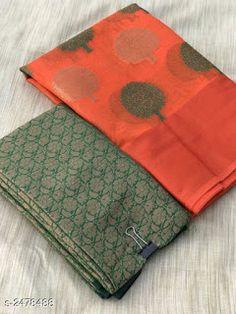 Cotton silk: starting free COD, Free Gift Drishya Pretty Cotton Silk Women's Sarees Vol 14 Fabric: Saree - .