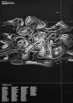 Creative Design, Graphic, Waves, Poster, and Map image ideas & inspiration on Designspiration Information Design, Information Graphics, Cover Design, Arquitectos Zaha Hadid, Gfx Design, Contour Line, Plakat Design, The Design Files, Grafik Design