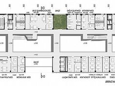 Arkitera -  Plan School Plan, Competition, Arch, Floor Plans, How To Plan, Japanese, Log Projects, Architecture, Longbow