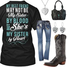 My Sister By Heart Outfit - Real Country Ladies