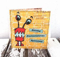 Small birthday card:-) I Card, Birthday Cards, Design, Home Decor, Anniversary Cards, Homemade Home Decor, Decoration Home, Room Decor, Bday Cards