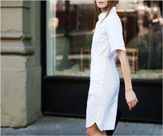 Shirt dress versatility