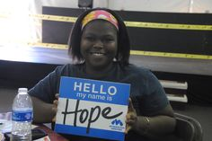 Bringing Hope to families in need at the Holiday Tent #BeHope