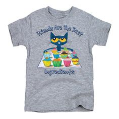Toddler Short Sleeve Tee Pete the Cat 5Th Birthday Girls
