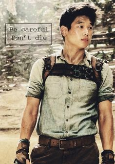 The ever inspiring Minho. So many sassy lines I wish they coulda had in the movie.