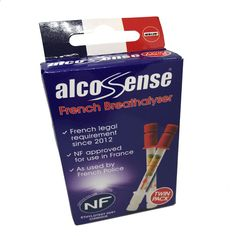 #Alcosense twin pack - #french nf approved breathalyser for #driving in france,  View more on the LINK: 	http://www.zeppy.io/product/gb/2/261953674069/