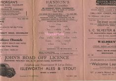 1948 Hounslow Town Res v Maidenhead res non League Football Programme London Square Deal, Football Program, Programming, London, Ebay, Computer Programming, London England, Coding