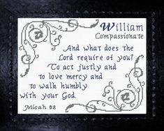 Beth - Name Blessings Personalized Cross Stitch Design from Joyful Expressions Cross Stitch Charts, Cross Stitch Designs, Cross Stitch Embroidery, Embroidery Patterns, William Name, Popular Baby Names, Classroom Quotes, Names With Meaning, Gifts For Family