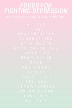 """liarinne: """"sadpandanet: """" 17 foods to help fight depression 💖 """" """"onions"""" you cry now so you wont cry later. seems legit. """" I could do with a kilo of each of these right now."""