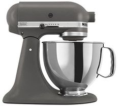 KitchenAid 45 Quart Tilt Head Stand Mixer Imperial Grey Color * More info could be found at the image url.  This link participates in Amazon Service LLC Associates Program, a program designed to let participant earn advertising fees by advertising and linking to Amazon.com.