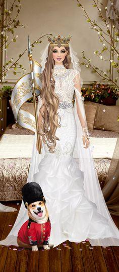 3d Girl, Belly Dance, Knights, Fashion Art, Diy Ideas, Queens, Royalty, Barbie, White Dress
