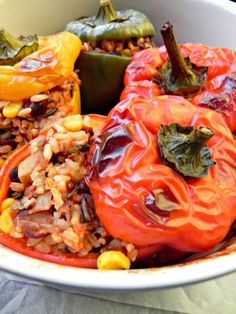 these stuffed peppers