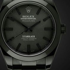 Rolex Black Edition (Titan Black)