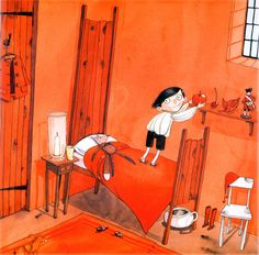 'Little red: a fizzingly good yarn' by Lynn Roberts, illustration by David Roberts