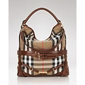 Burberry Medium Hobo - Love the combination of buckle-trim and leather straps!  So gorgeous