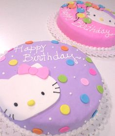 Parecidas pero diferentes and like OMG! get some yourself some pawtastic adorable cat apparel! Hello Kitty Theme Party, Hello Kitty Themes, Hello Kitty Birthday, Little Girl Birthday, Pretty Cakes, Cute Cakes, Bolo Hello Kitty, Anniversaire Hello Kitty, Camo Wedding Cakes