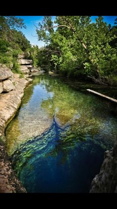 Jacob's Well in Texas