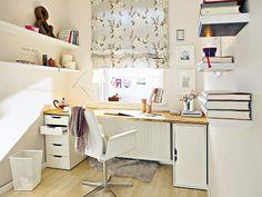 Idee für Schreibtisch am neuen Arbeitsplatz