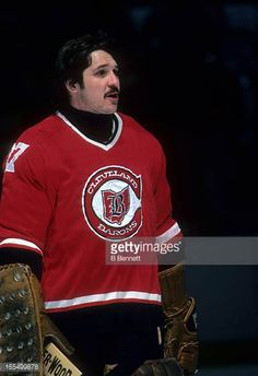 goalie-gilles-meloche-of-the-cleveland-barons-skates-on-the-ice-picture-id155499878 (419×612) Hockey Goalie, Hockey Games, Ice Hockey, Cincinnati Reds, Cleveland, Ice Pictures, Buy Edibles Online, Goalie Mask, Wayne Gretzky