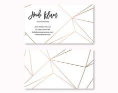Diseño de tarjeta de visita preconfeccionados plantilla de