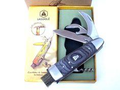 LAGUIOLE Pilzmesser mit Bürste Multi-Tool  5 Funktionen  Neu & OVP! in Sport, Camping & Outdoor, Werkzeug   eBay!