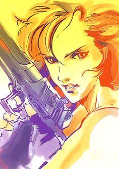 Graffiti Meryl, Metal Gear Solid 1