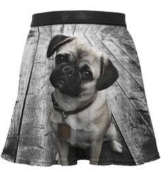 Pug circle skirt for kids, Mr. GUGU & Miss GO