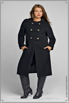 Manteaux pour femmes rondes