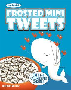 Social media poster = Twitter  / justonescarf design