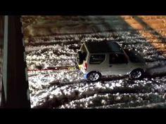関東大雪!ジムニーが牽引した車とは、samurai spirit「SUZUKI Jimny660cc」 - YouTube