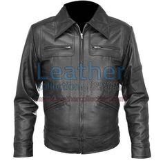 Classic Shirt Style Leather Jacket for €116.82 - https://www.leathercollection.com/en-ie/shirt-style-leather-jacket.html
