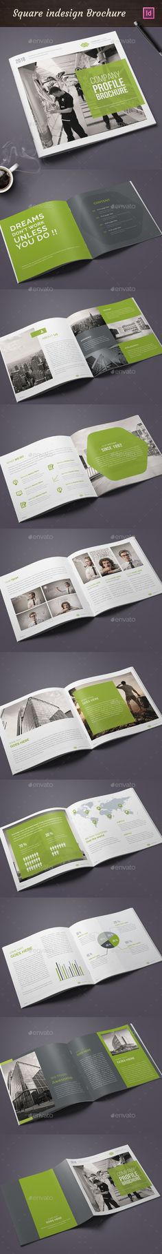 I love this square annual report. It has a lot of unique layouts and uses color…