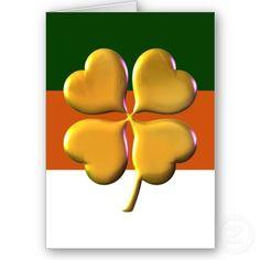 #irish #shamrock #green #lucky #stpatricksday #stpattysday #greetingcards by #mgdezigns