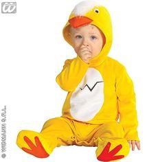 Disfraz de Pollito #infantil #disfraces