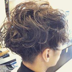 Mens Perm, Man Hair, Curly Hair Styles, Men's Fashion, Hair Cuts, Hair Beauty, Dreadlocks, Hairstyle, Tattoos