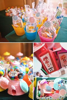 """Lalaloopsy Inspired """"Cute as A Button"""" 1st Birthday // Hostess with the Mostess®"""
