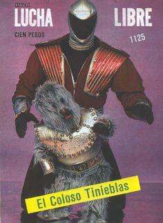 The villainous Tinieblas and his Mayan goblin sidekick Alushe