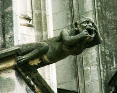 Gargoyle, one of many at Tours Cathedral