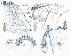 Draw+Waterfalls+by+Diana-Huang.deviantart.com+on+@deviantART
