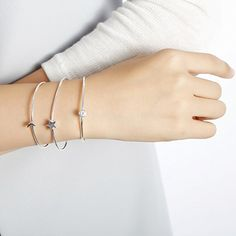 Amazon.com: SILVERAGE Sterling Silver Moon Star Multilayer Cuff Bracelet: Jewelry