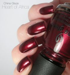 China Glaze Heart of Africa swatch