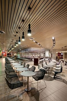 Melbourne Central Food Court by The Uncarved Block