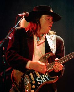 Stevie Ray Vaughan, gone 23 years ago today, 8/26/13. We lost him far too soon, Missed and Loved Forever  ~~♥~~ R I P Stevie ~~♥~~