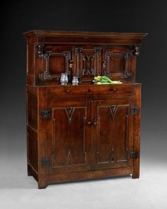 Mid 17th. century Oak Court Cupboard with huge amounts of storage space for anything you can think of from the kitchen to the Bedroom and anywhere in between!