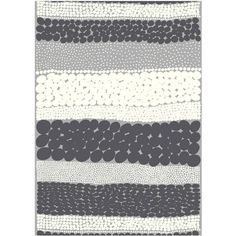 Marimekko Jurmo HW cotton fabric (€49) ❤ liked on Polyvore featuring home, home improvement and fabric