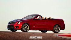X-Tomi Design: Cadillac ATS-V Cabriolet