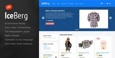 Iceberg - eCommerce Theme   http://themeforest.net/item/iceberg-ecommerce-theme/3568284?ref=damiamio          Show off your work with this easy-to-customize and fully featured WooCommerce WordPress Theme. When purchasing this theme, you will receive a detailed help file along with additional features like eCommerce Ready Shop and Responsive Layout.  Theme Features     WooCommerce Shop Ready: Starting selling your products today    Unlimited Color Schemes that are easy to customize from a…