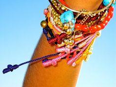 pulseras hippies - Buscar con Google