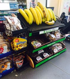 7-Eleven: More bananas, less junk food at checkout please! (7-Eleven, Washington, DC 7/15)